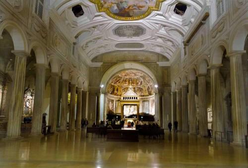 Nawa główna kościoła San Pietro in Vincoli
