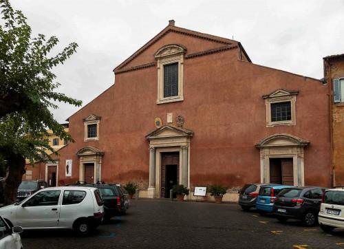 Façade of the Church of San Pancrazio