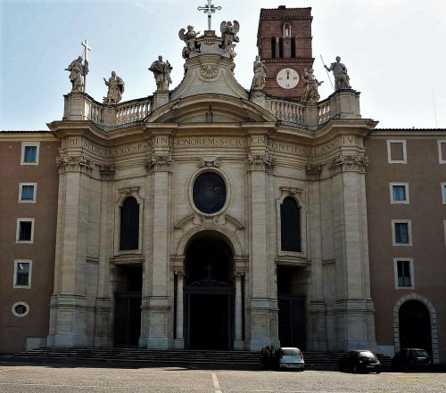 Façade of the Church of Santa Croce