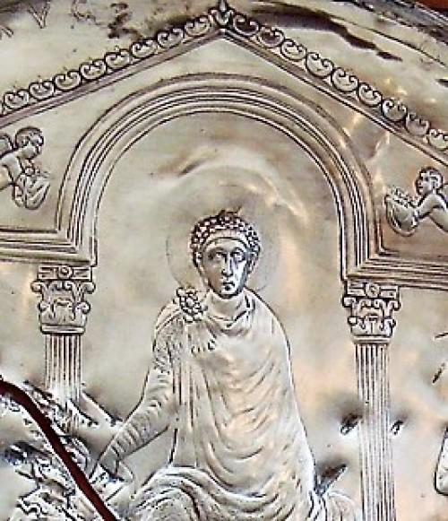 Wizerunek cesarza Teodozjusza Wielkiego, zdj. Wikipedia