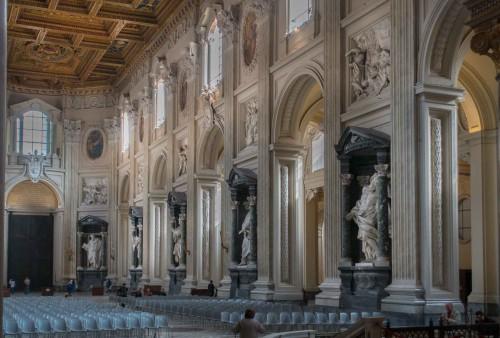 Francesco Borromini, bazylika San Giovanni in Laterano - barokizacja wnętrza