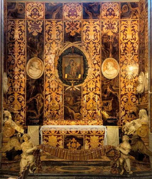 Francesco Borromini, Cappella Spada in the Church of San Girolamo della Carità