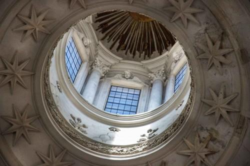 Francesco Borromini, dome of the Church of Sant'Ivo alla Sapienza