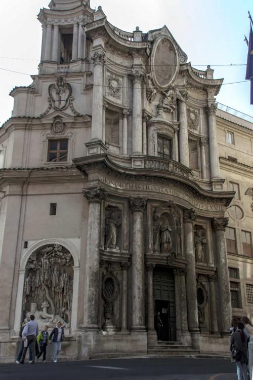 Francesco Borromini, Church of San Carlo alle Quattro Fontane