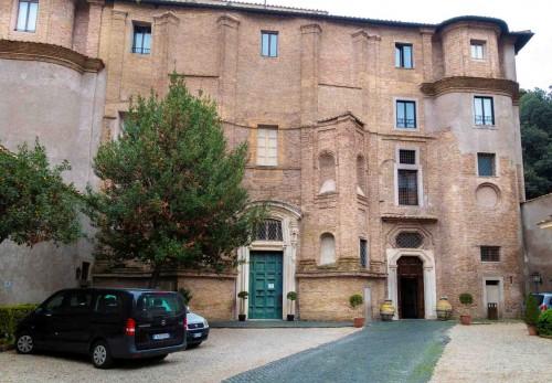 Francesco Borromini, unfinished façade of the monastery complex of Santa Maria dei Sette Dolori