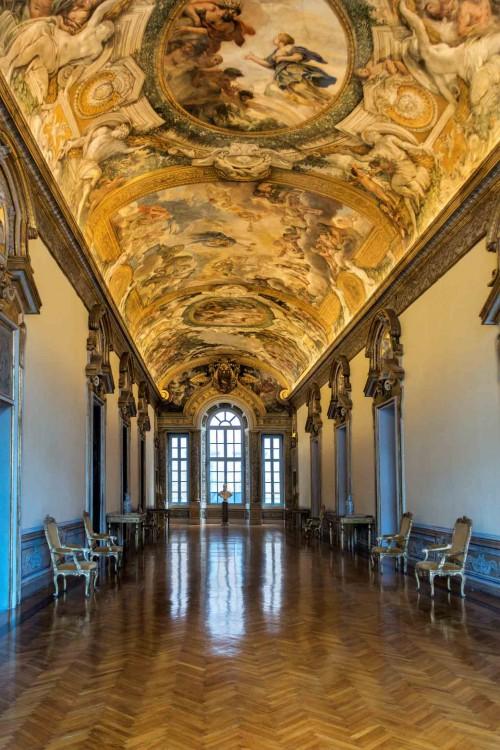 Francesco Borromini, Palazzo Pamphilj - Galleria Serliana, Piazza Navona
