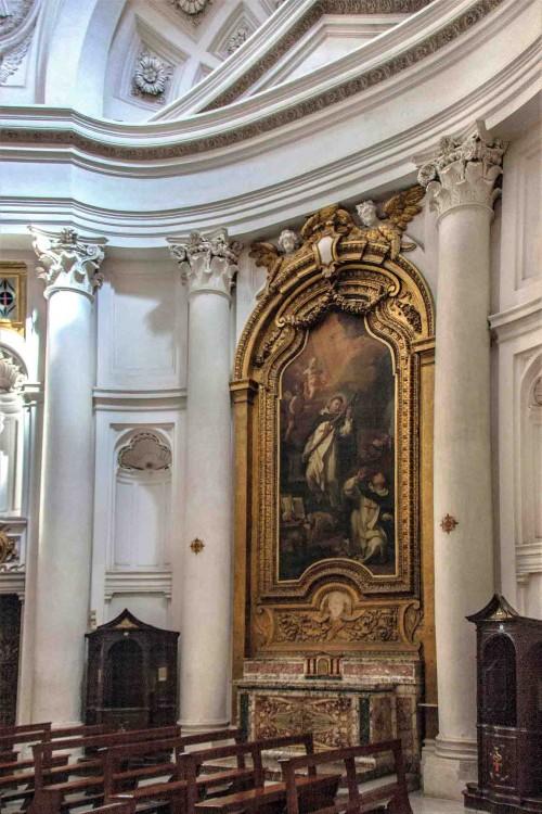 Francesco Borromini, wnętrze  kościoła San Carlo alle Quattro Fontane