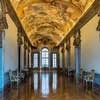 Francesco Borromini, Palazzo Pamphilj – Galleria Serliana, Piazza Navona