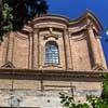 Francesco Borromini, tower topping off the dome of the Basilica of Sant'Andrea delle Fratte