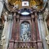 Francesco  Borromni, main altar of the Basilica of San Giovanni dei Fiorentini