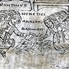 Cesarz Konstantyn na soborze w Nicei, manuskrypt średniowieczny, fragment, zdj. Wikipedia