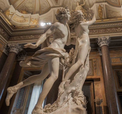 Gian Lorenzo Bernini, Apollo and Daphne, Galleria Borghese