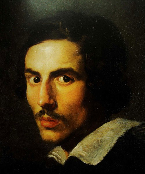 Gian Lorenzo Bernini, Self-portrait in his youth, Galleria Borghese, pic. WIKIPEDIA