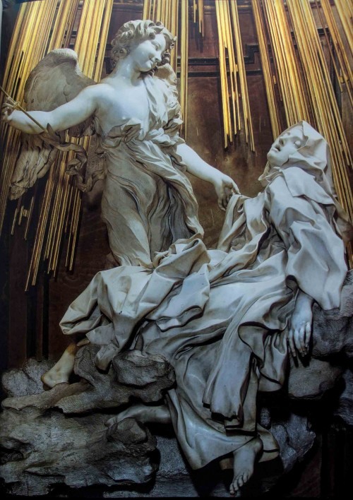 Gian Lorenzo Bernini, Ecstasy of St. Teresa, Church of Santa Maria della Vittoria