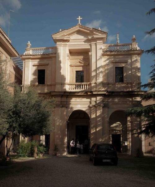 Gian Lorenzo Bernini, fasada kościoła Santa Bibiana