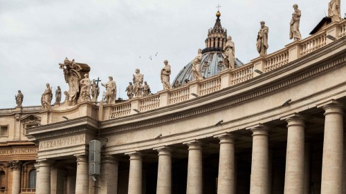Gian Lorenzo Bernini, kolumnada na placu św. Piotra (Piazza di San Pietro)