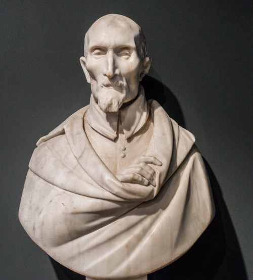 Gian Lorenzo Bernini, bust of Antonio Coppola, 1612 r., Museo di Arte Sacro, Church of San Giovanni dei Fiorentini
