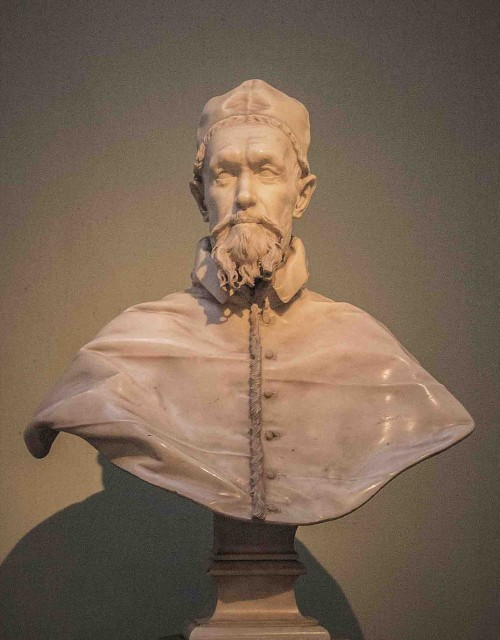 Gian Lorenzo Bernini, bust of Pope Innocent X, Galleria Doria Pamphilj