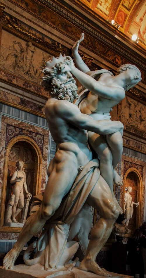 Gian Lorenzo Bernini, The Rape of Proserpina, Galleria Borghese