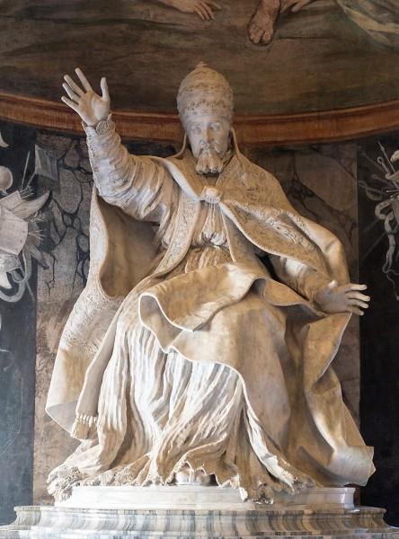 Gian Lorenzo Bernini, posąg papieża Urbana VIII, Musei Capitolini