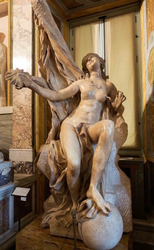 Gian Lorenzo Bernini, The Truth, Galleria Borghese