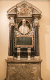 Gian Lorenzo Bernini, memorial to Pedro Montoya,  former sacristy of the church Santa Maria in Monserrato