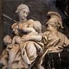 Antonio Raggi, alegoria Miłosierdzia z nagrobka kardynała Pimitela, bazylika Santa Maria sopra Minerva