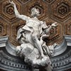 Antonio Raggi, dekoracje stiukowe kopuły kościoła Sant'Andrea al Quirinale