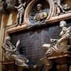 Antonio Raggi, personifikacje cnót (Roztropność i Wstrzemięźliwość) z nagrobka markiza Gastaldiego, kościół Santa Maria dei Miracoli