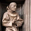 Antonio Raggi, statue of St. Bernard of Siena in the Chigi Chapel, Basilica of Santa Maria della Pace