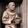 Antonio Raggi, posąg św. Bernarda ze Sieny w kaplicy Chigich, kościół Santa Maria della Pace