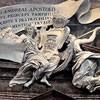 Grupa z dedykacją poświęcona papieżowi Innocentemu X, dzieło przypisywane Antonio Raggiemu, kościół Sant'Andrea al Quirinale