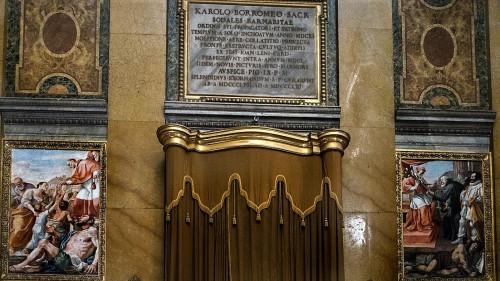 Czyny św. Karola Boromeusza, Mattia Preti, kościół San Carlo ai Catinari