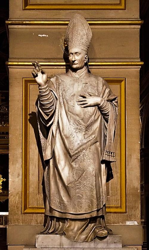 Posąg Karola Boromeusza, Stefano Maderno, kościół San Lorenzo in Damaso