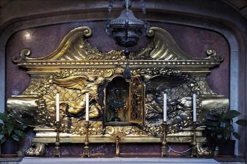 Relikwiarz na serce św. Karola Boromeusza, kościół San Carlo al Corso