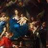 Adoracja Marii przez Karola Boromeusza i Ignacego Loyolę, Carlo Maratti, kościół Santa Maria in Vallicella