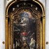 Ołtarz główny z przedstawieniem wizji św. Karola Boromeusza, kościół San Carlo alle Quattro Fontane
