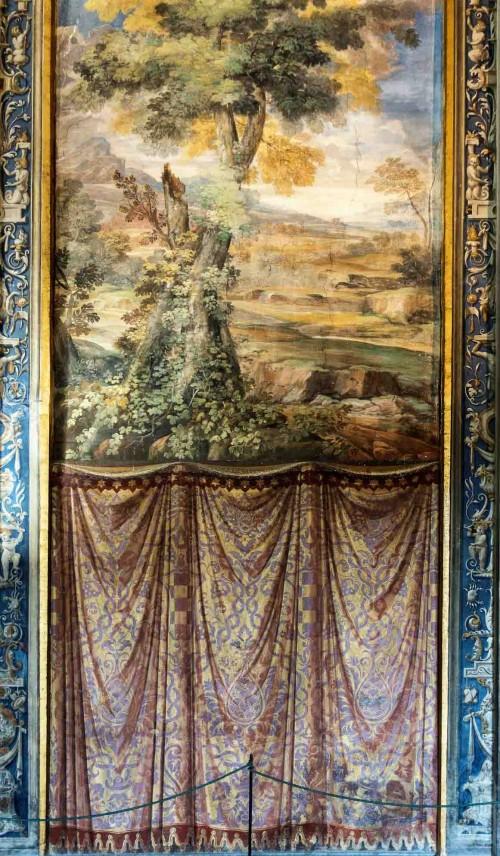 Farnesina, dekoracja ścienna - Loggia di Galatea