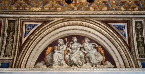 Farnesina, korytarz, dekoracje sklepienia