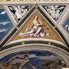 Farnesina, Loggia di Galatea, dekorcja sklepienia