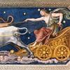 Farnesina, Loggia di Galatea, sklepienie