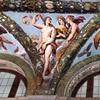 Farnesina, Loggia di Psiche - Wenus, Ceres i Junona, Giovanni da Udine