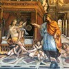 Farnesina, Sala delle Nozze, Aleksander Wielki i Roksana, fragment