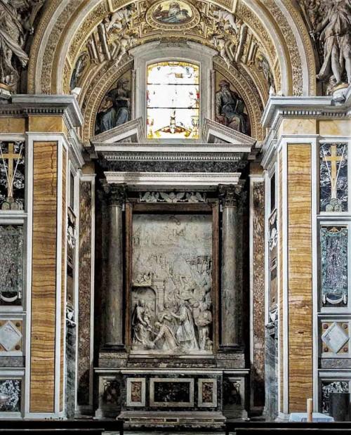 Santa Pudenziana, kaplica Caetani, ołtarz główny - Adoracja Trzech Królów
