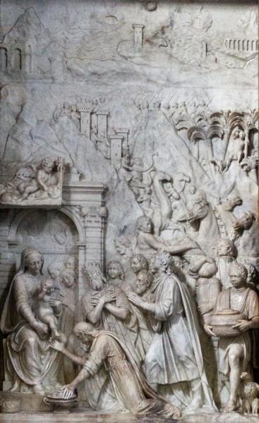 Church of Santa Pudenziana, Caetani family chapel, Adoration of the Magi