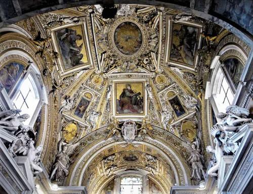 Santa Pudenziana, kaplica rodu Caetani, sklepienie