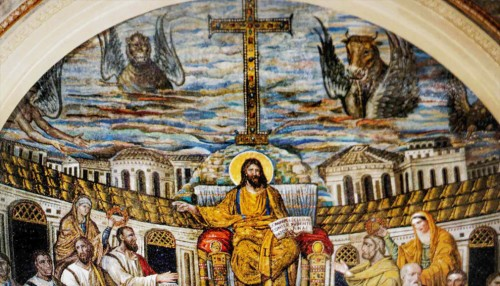 Santa Pudenziana, mozaika w absydzie