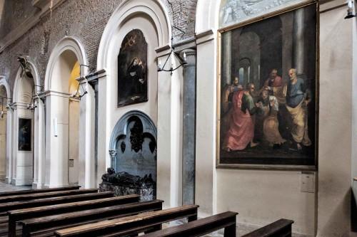 Santa Pudenziana, widok jednej z naw