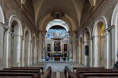 Santa Pudenziana, wnętrze