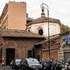Santa Prudenziana, widok od strony via Cesare Balbo